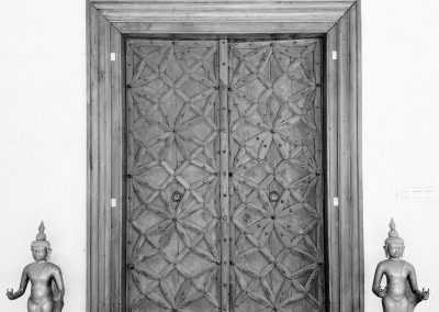 Dojo Door black and white